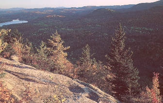 Summit of Owlshead Mountain - Groton State Forest