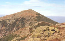 Barren Summit of Mount Lafayette In The White Mountains National Forest, New Hampshire, Copyright 1999 - 2000, OutdoorPlaces.Com, All Rights Reserved
