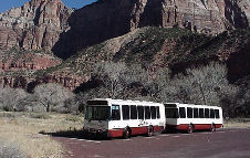 Brand New Shuttle Buses, Picture Provided By The US National Park Service